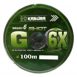 KABURA G-6X SHOT BRAIDX6 ÖRGÜ İP 100MT