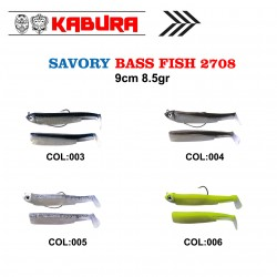 KABURA BASS FISH 2708 SAVORY SİLİKON